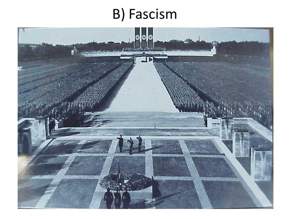 B) Fascism