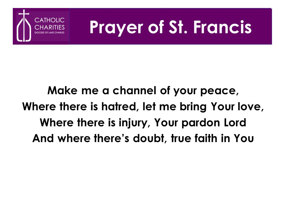 Prayer of St.