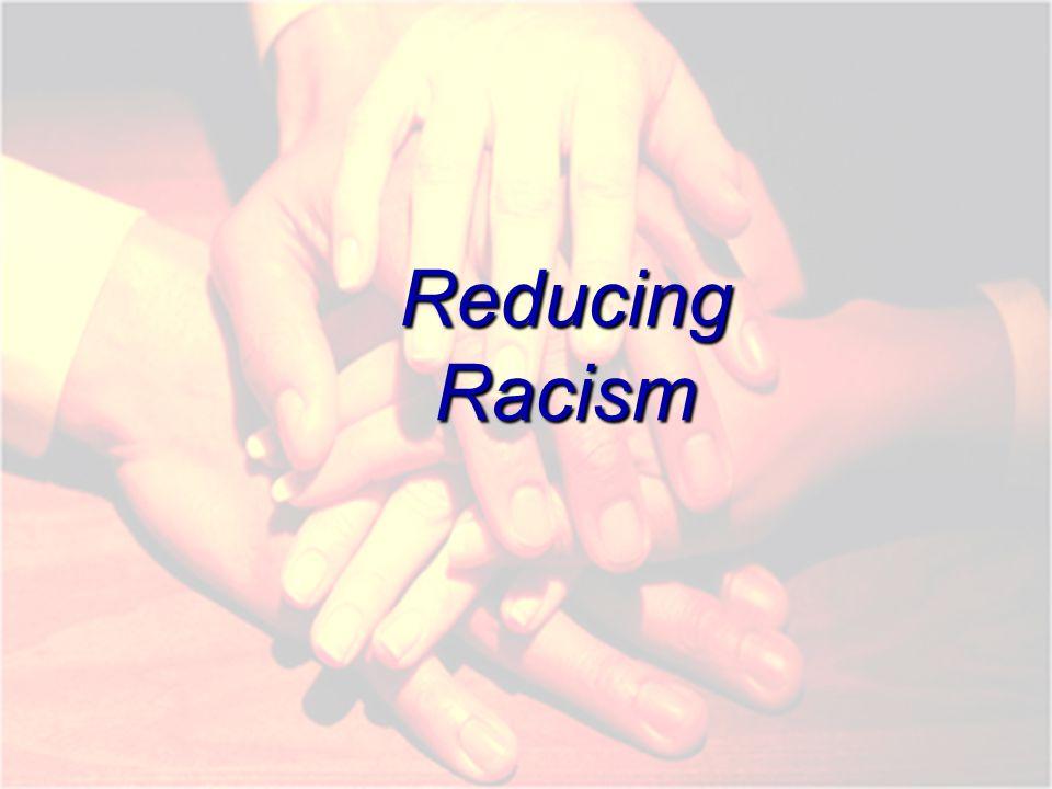 Reducing Racism