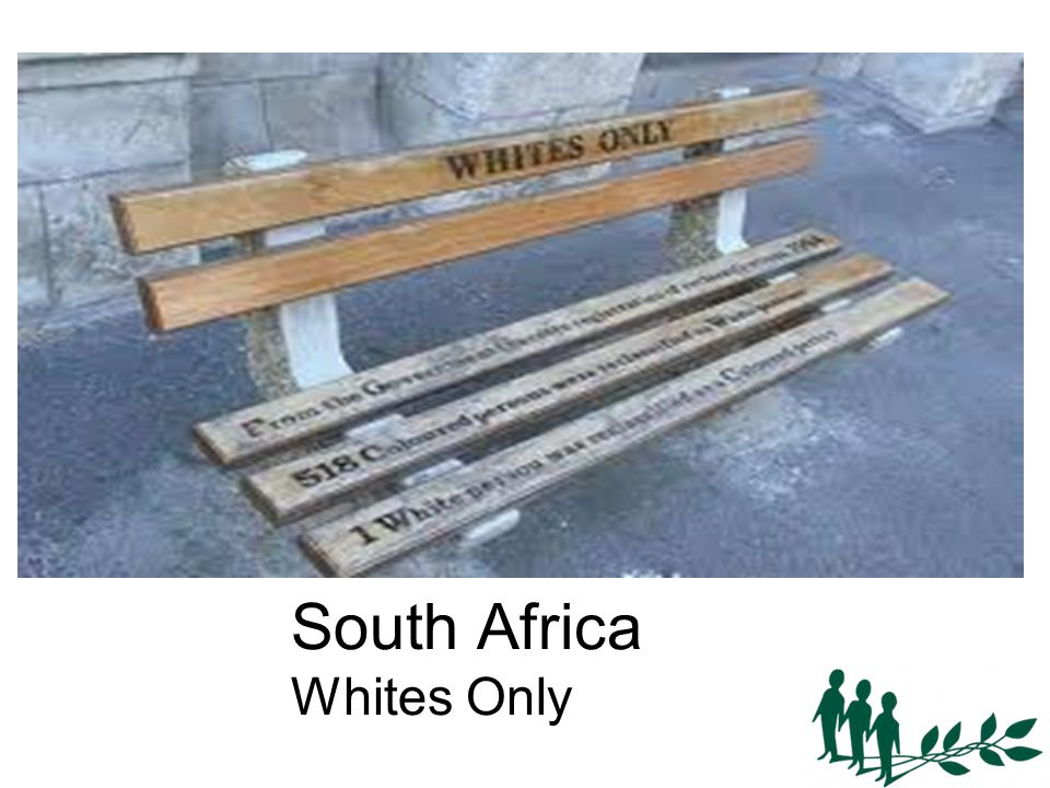South Africa Whites Only