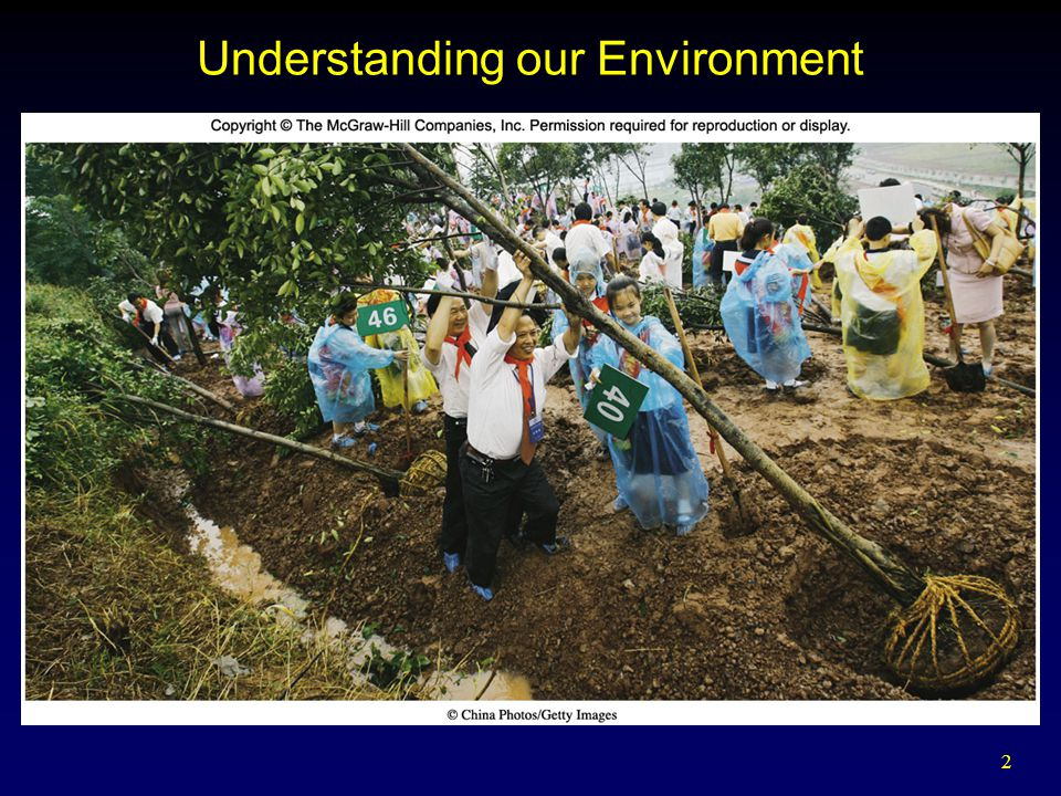 2 Understanding our Environment