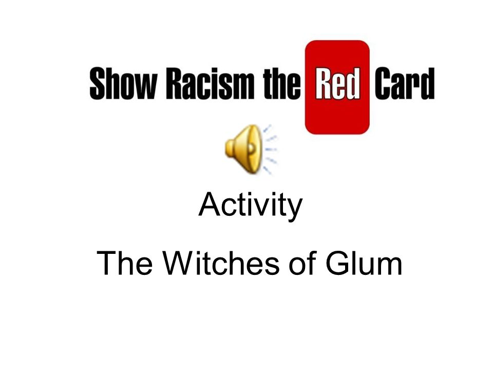 Activity The Witches of Glum