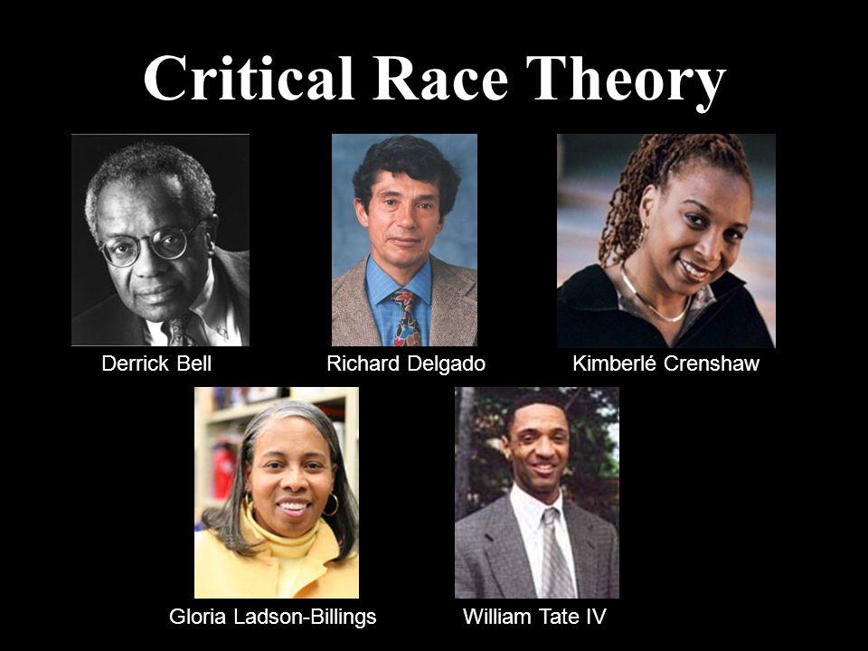 Critical Race Theory Derrick BellRichard DelgadoKimberlé Crenshaw Gloria Ladson-BillingsWilliam Tate IV