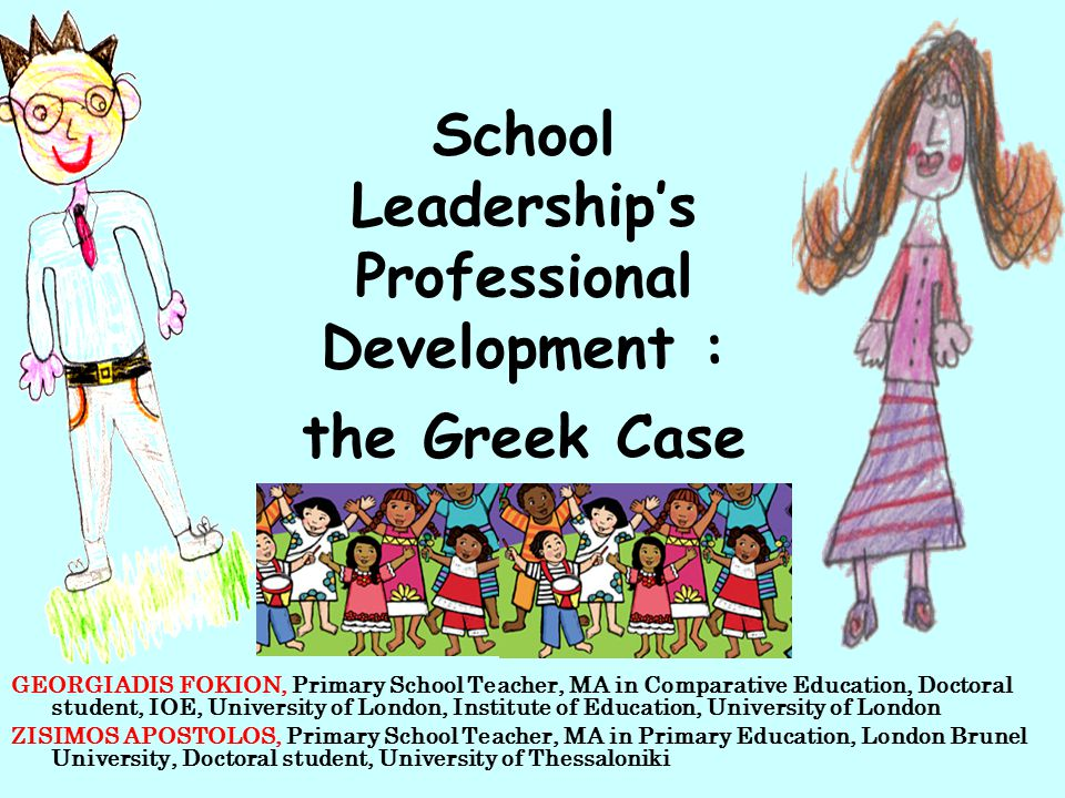 New dimensions in leadership professional development for Greek primary headteachers