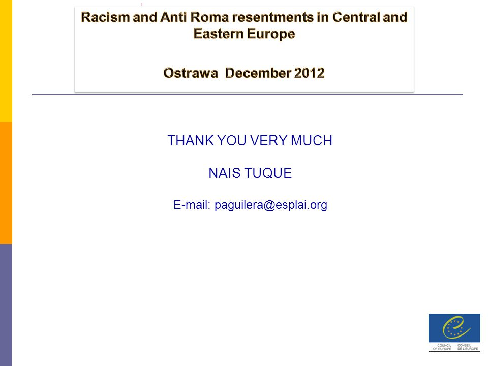 THANK YOU VERY MUCH NAIS TUQUE E-mail: paguilera@esplai.org