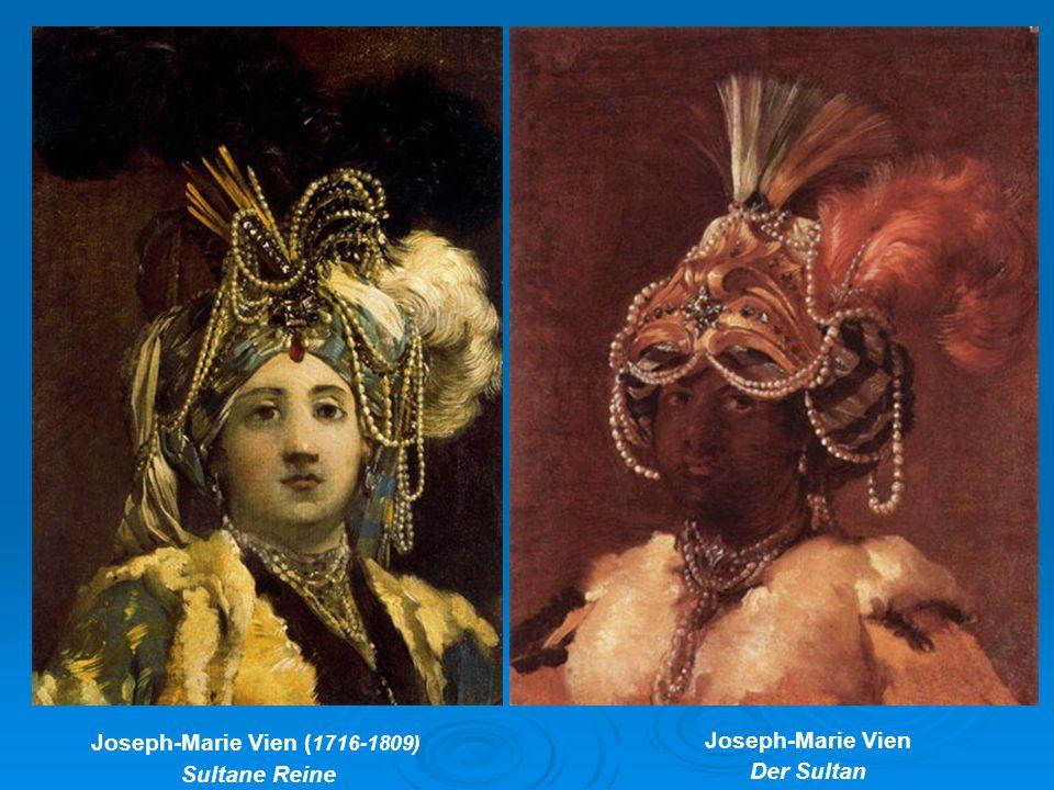 Joseph-Marie Vien ( 1716-1809) Sultane Reine Joseph-Marie Vien Der Sultan