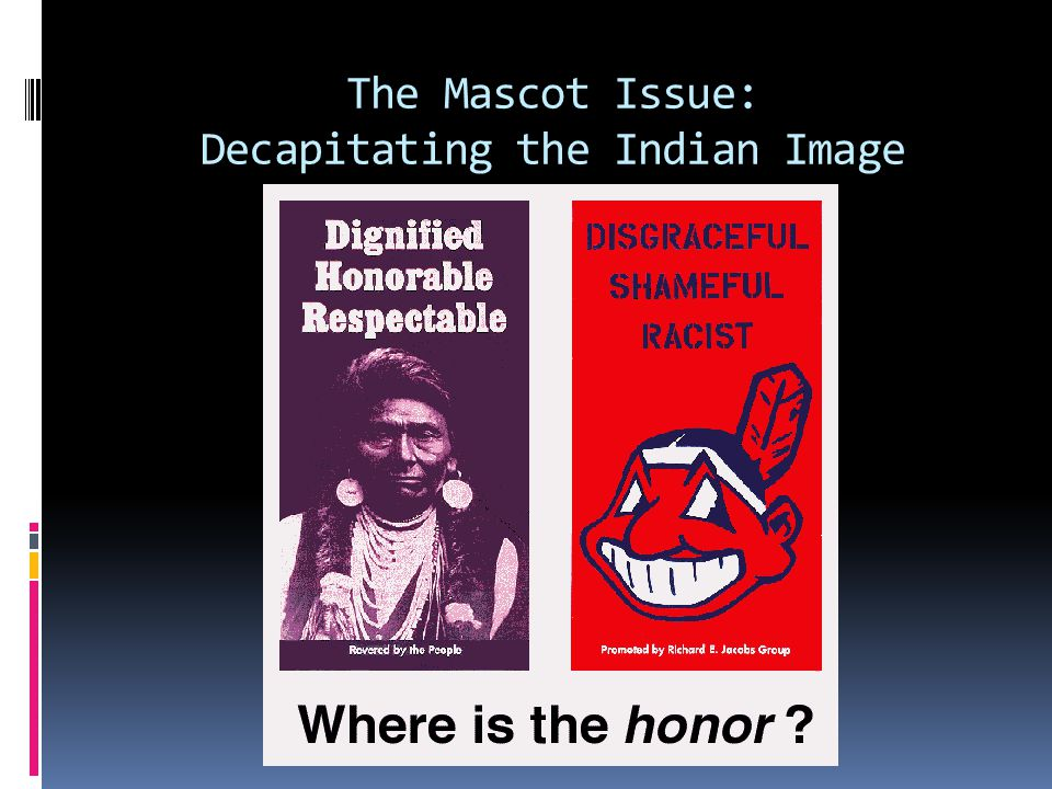 How are FN People responding to the Mascot Issue.