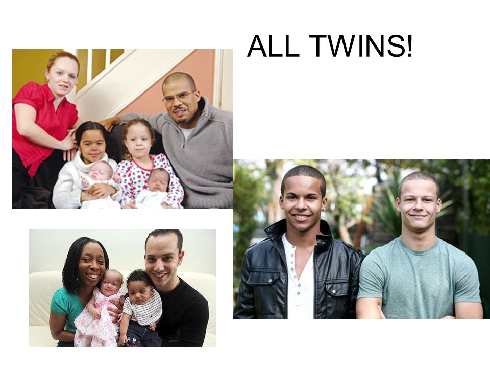 ALL TWINS!