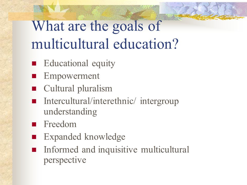 How can we develop a multicultural curriculum.