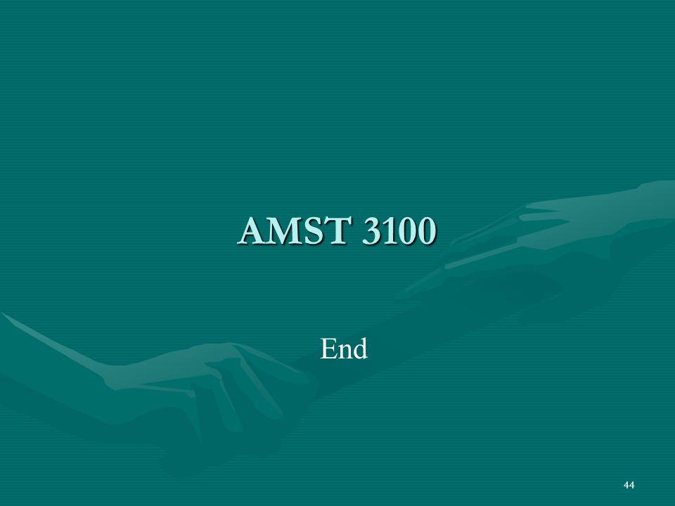 44 AMST 3100 End