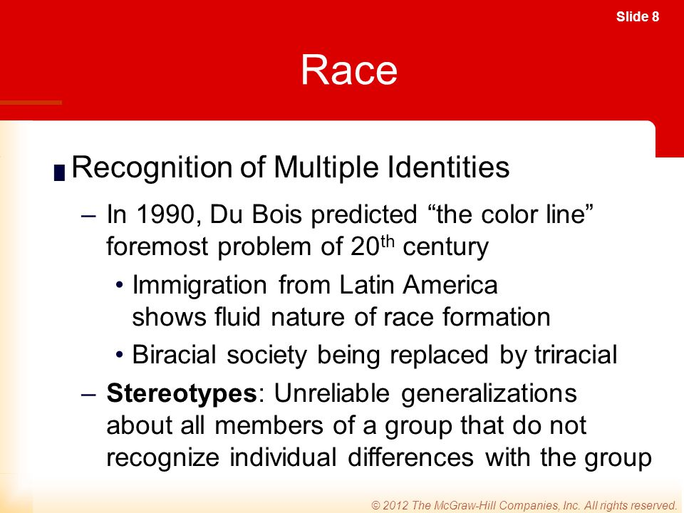 Slide 19 © 2012 The McGraw-Hill Companies, Inc.All rights reserved.