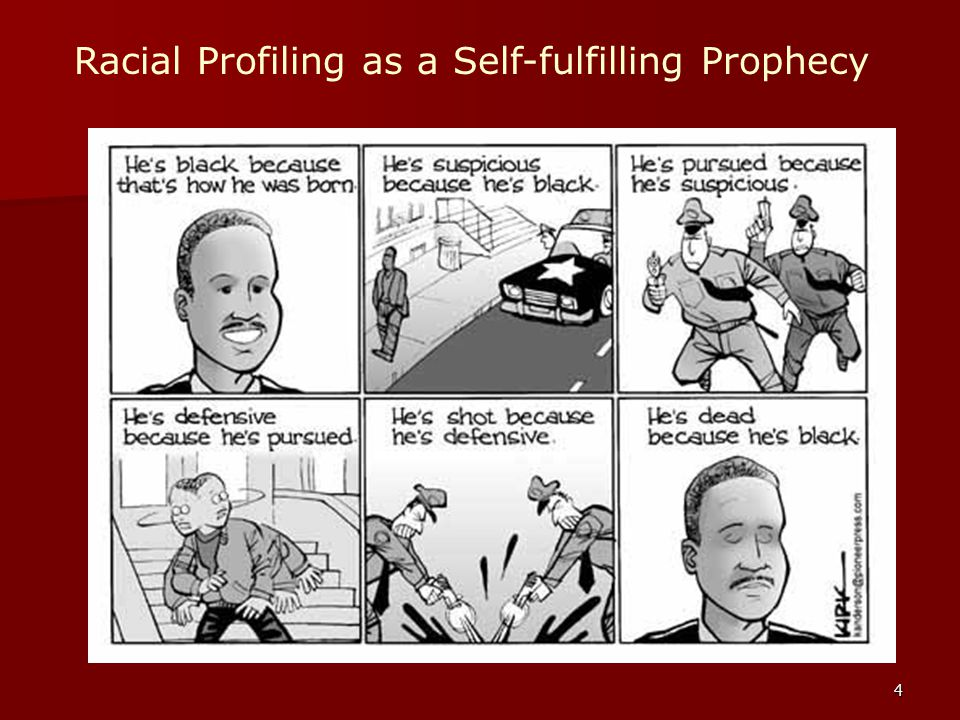 4 Racial Profiling as a Self-fulfilling Prophecy