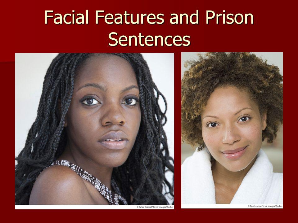 Facial Features and Prison Sentences