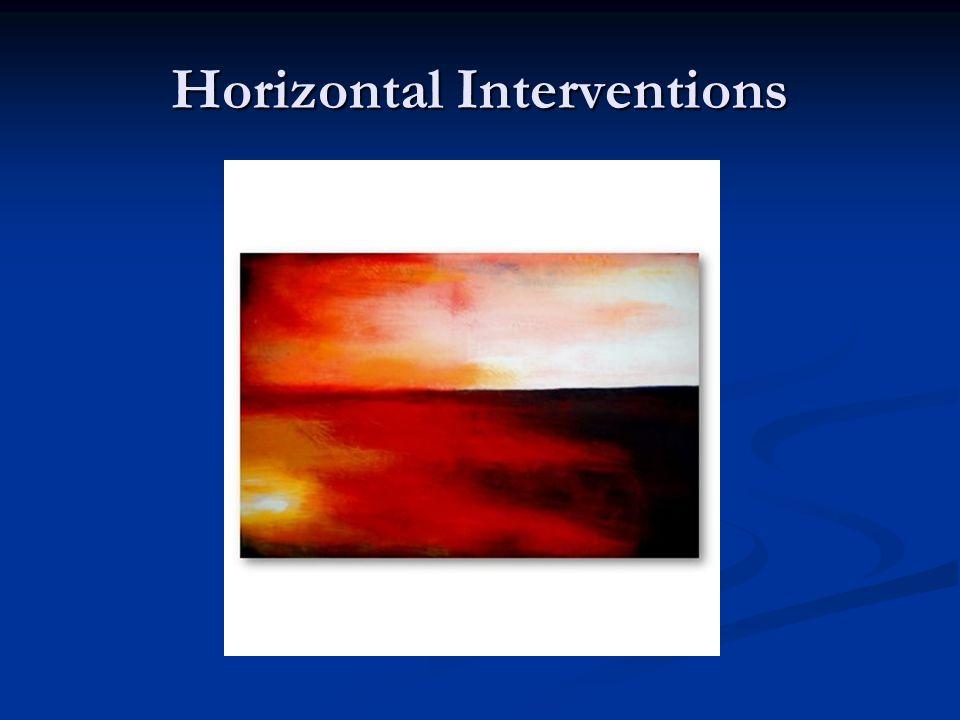 Horizontal Interventions
