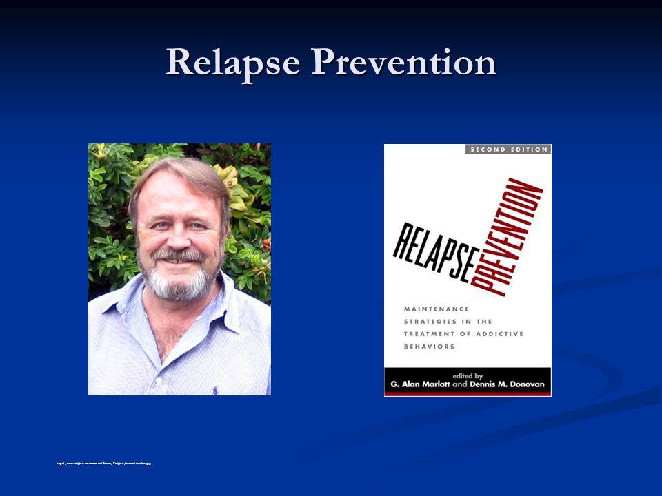 Relapse Prevention http://www.religion.utoronto.ca/Assets/Religion/assets/marlatt.jpg
