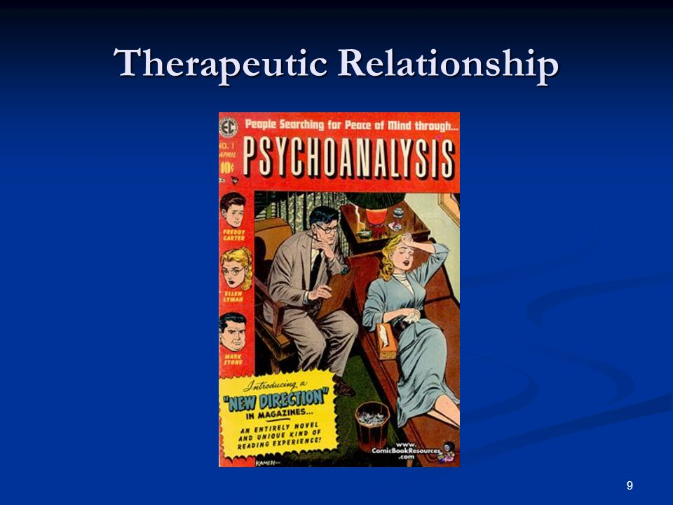 Therapeutic Relationship 9