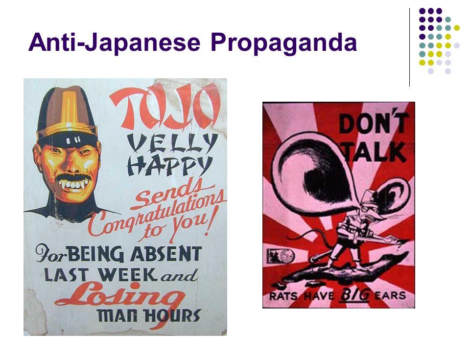 Anti-Japanese Propaganda