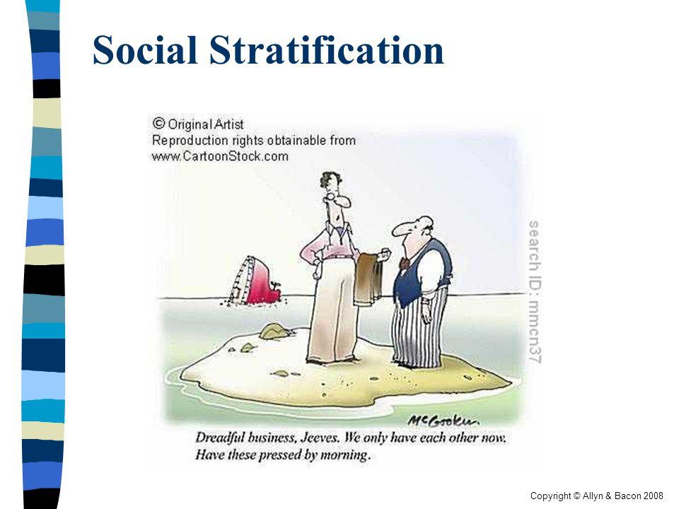 Copyright © Allyn & Bacon 2008 Social Stratification