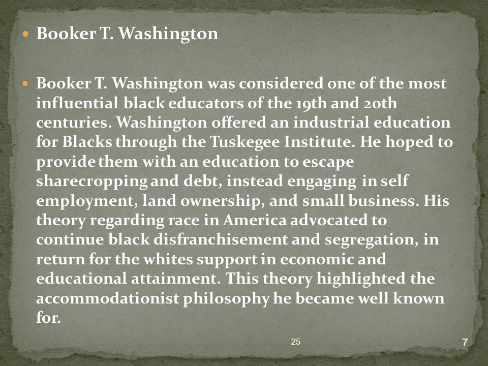 Booker T. Washington Booker T.