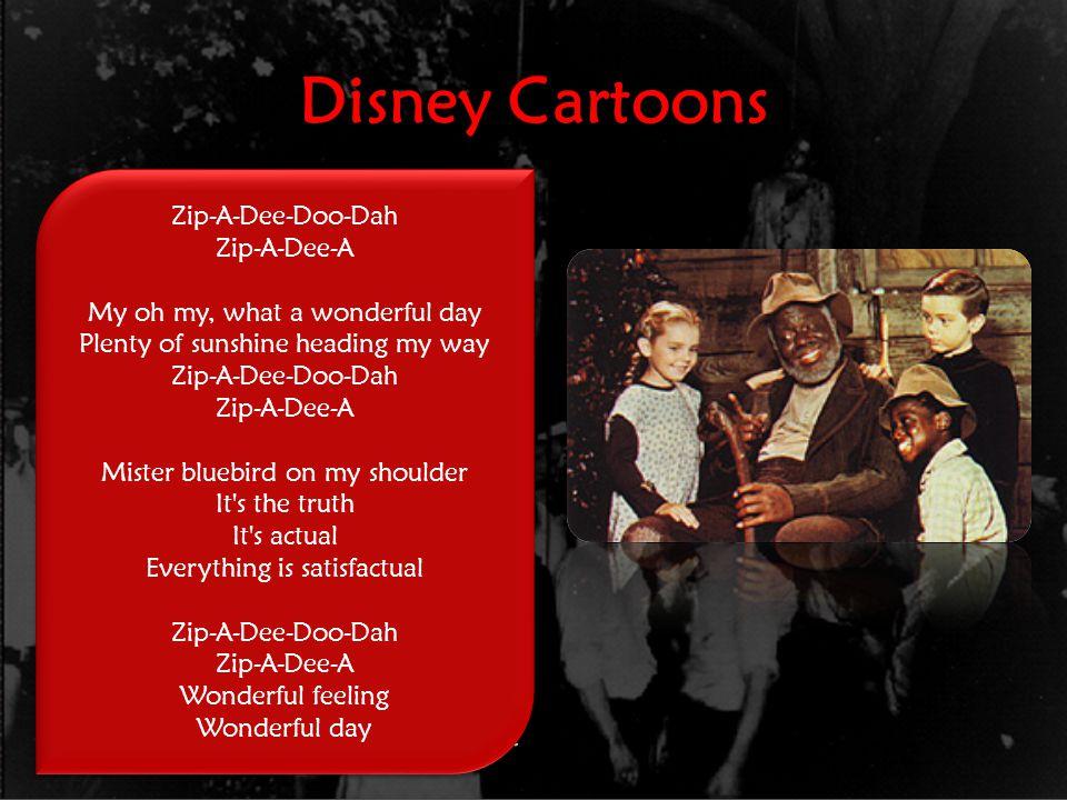 Disney Cartoons Dumbo 1941 White men speaking Black dialect Minstrel show dancing One crow is named Jim Crow in script/credits