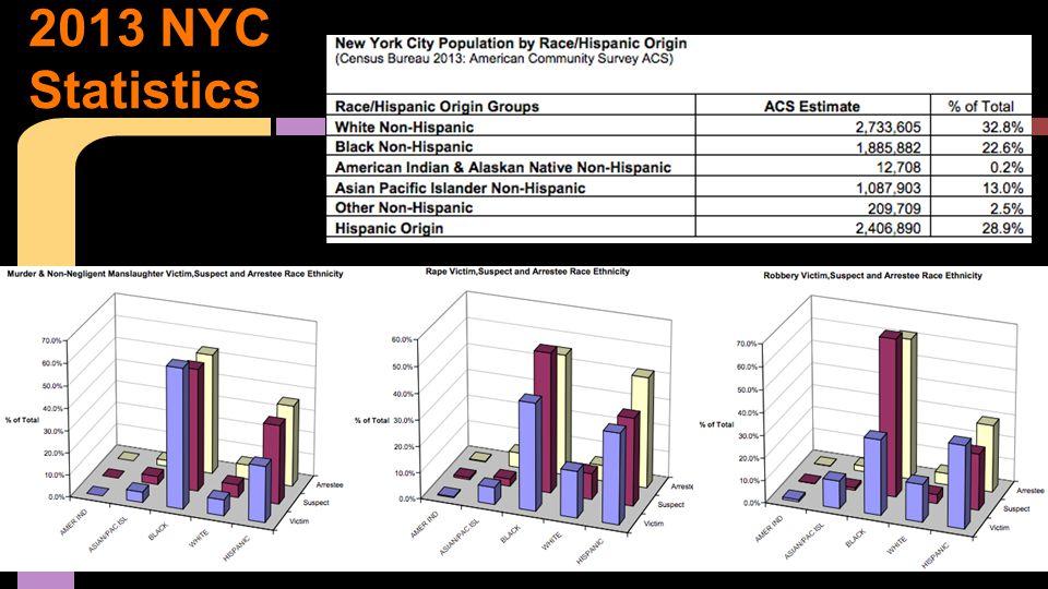 2013 NYC Statistics