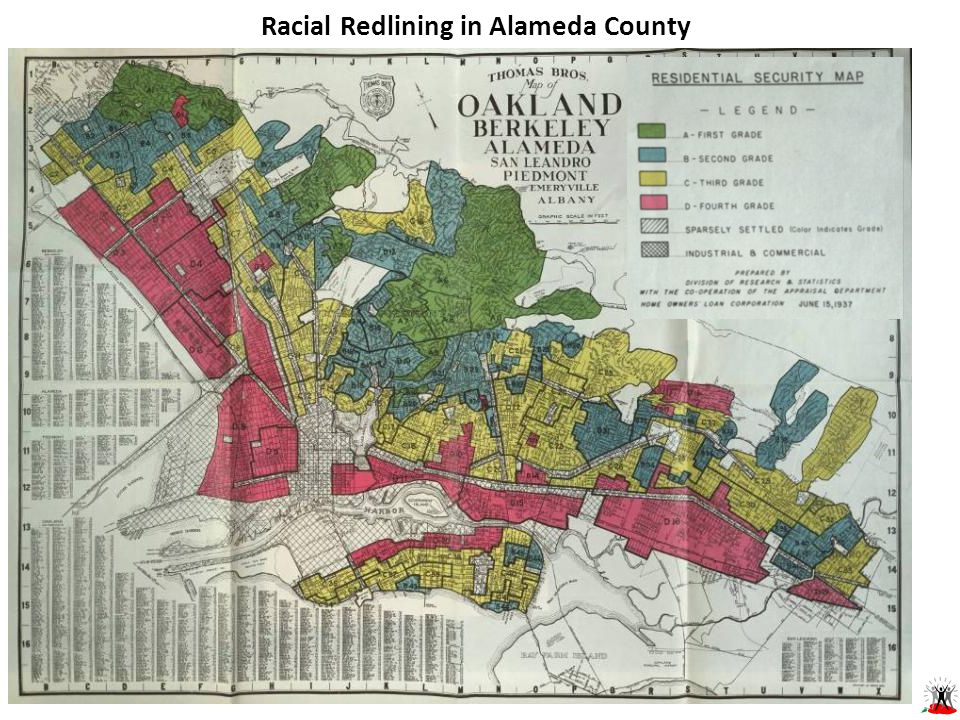 Racial Redlining in Alameda County