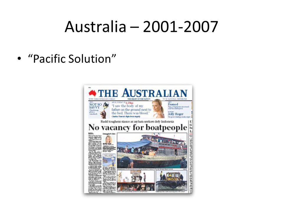 Australia – 2001-2007 Pacific Solution