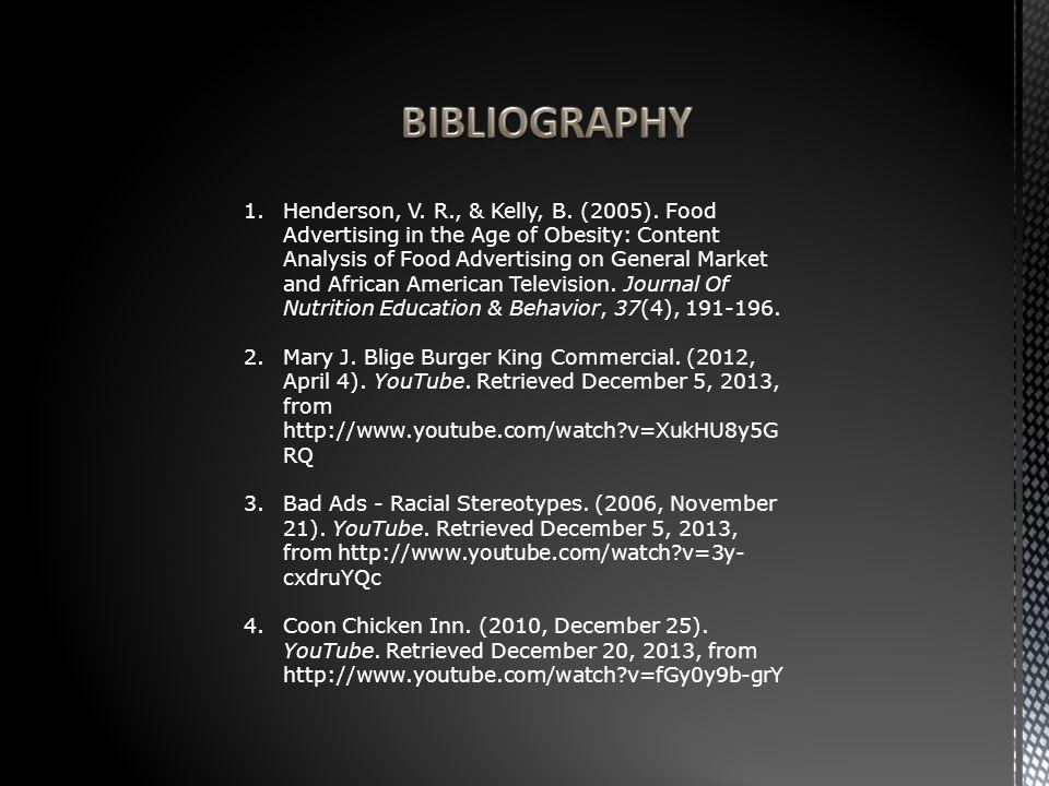 1.Henderson, V. R., & Kelly, B. (2005).
