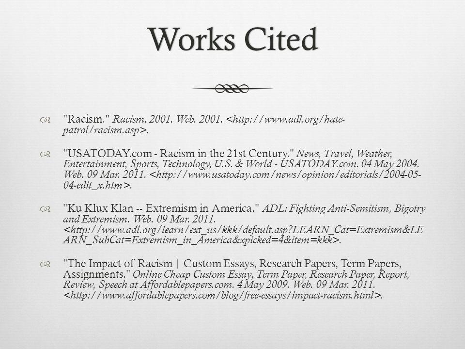 Works CitedWorks Cited 