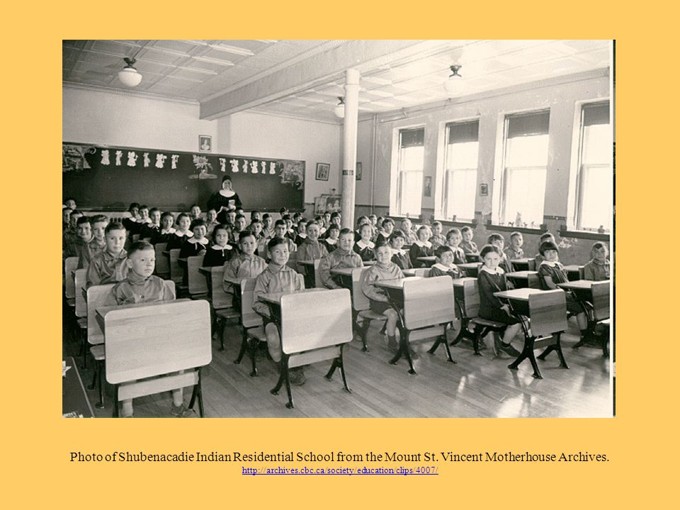 Photo of Shubenacadie Indian Residential School from the Mount St.