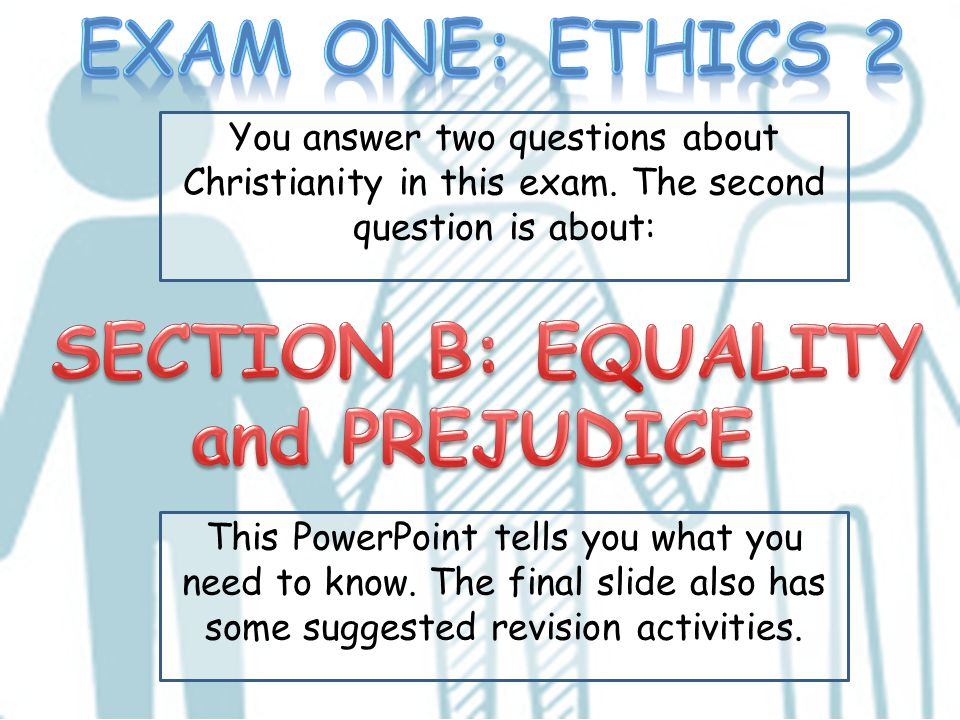 This PowerPoint tells you what you need to know. The final slide also has some suggested revision activities. You answer two questions about Christian