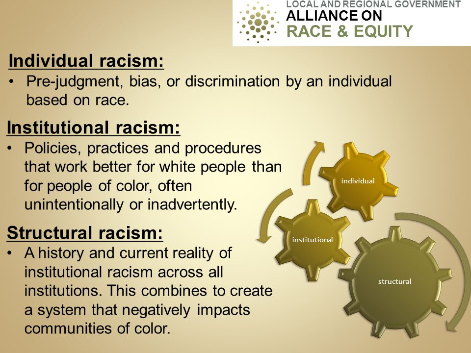 Proactively seeks to eliminate inequities and advance equity Identifies clear goals and objectives, measurable outcomes Develops mechanisms for successful implementation 16 LOCAL AND REGIONAL GOVERNMENT ALLIANCE ON RACE & EQUITY