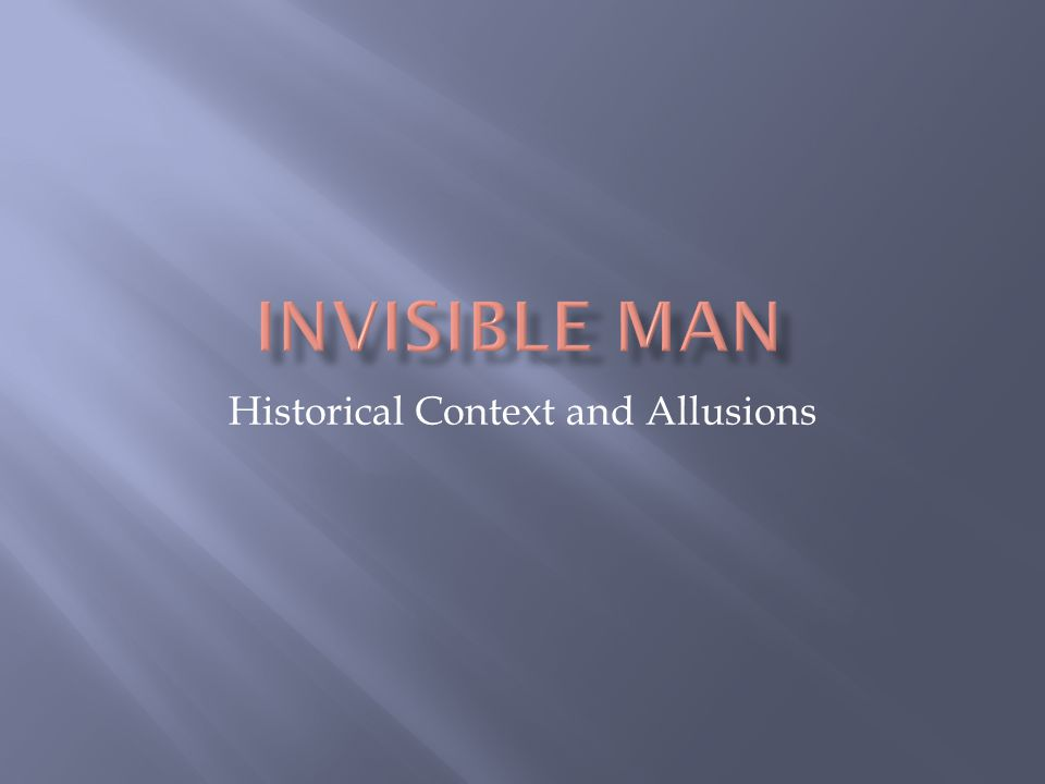 Historical Context and Allusions