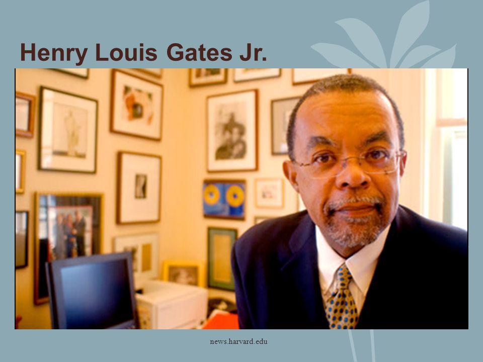 Henry Louis Gates Jr. news.harvard.edu