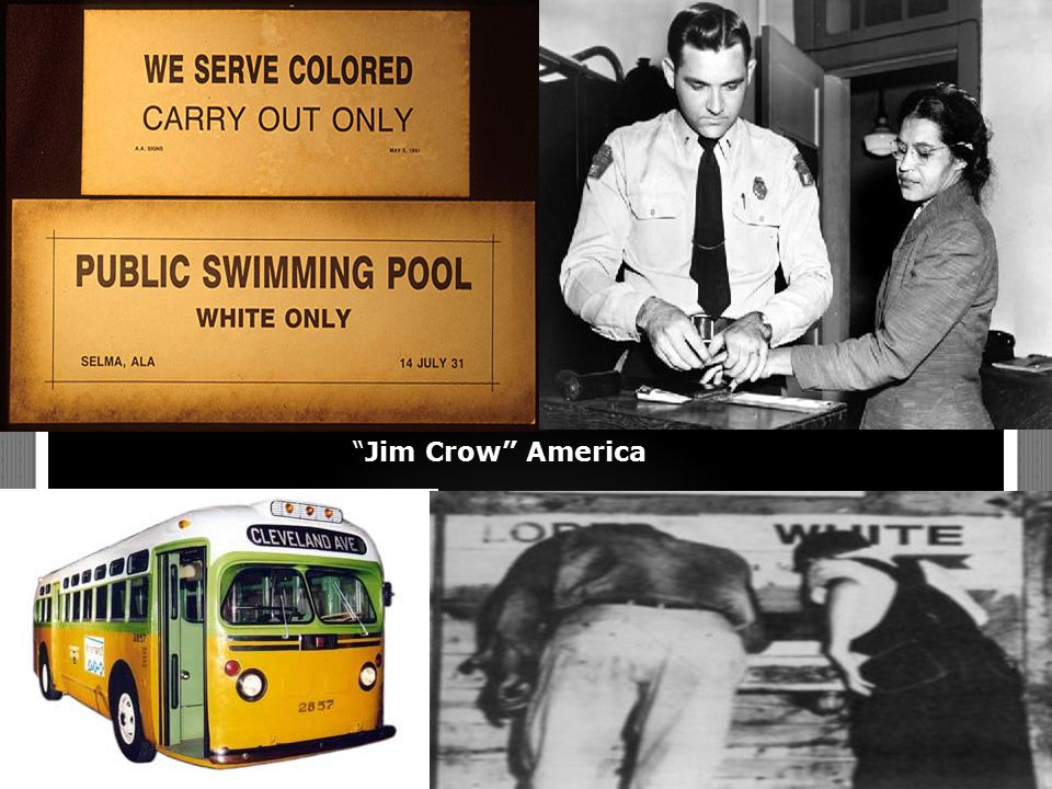 """Jim Crow"" America"