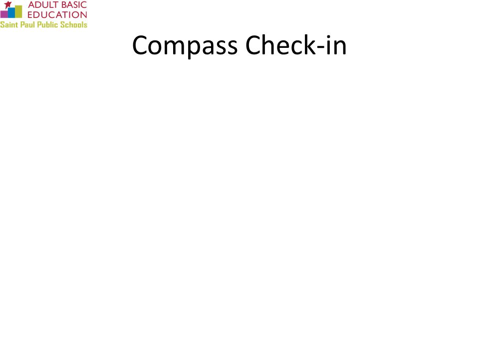 Compass Check-in