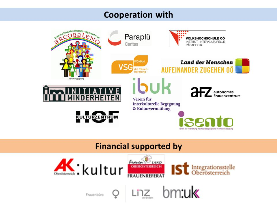 Cooperation with Financial supported by