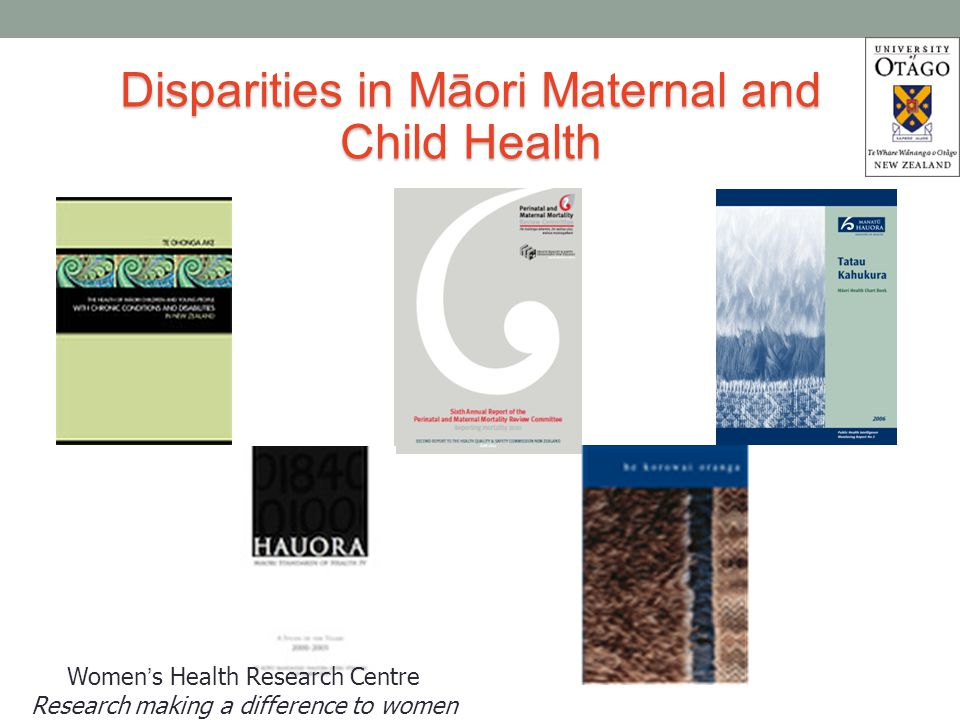 Findings - published Finding out – Finding a Midwife Majority of participants confirmed their pregnancy in the first trimester Early interaction with primary care services Proactive Pregnancy tests Barriers Identifying, confirming and enrolling with an LMC problematic Lack of information and support about pathways Over expectation on young pregnant women Limited resources and knowledge to navigate system Structural & service changes to ensure a seamless maternity care pathway Makowharemahihi C, Lawton B, Cram F, Ngata T, Robson B, Brown S.