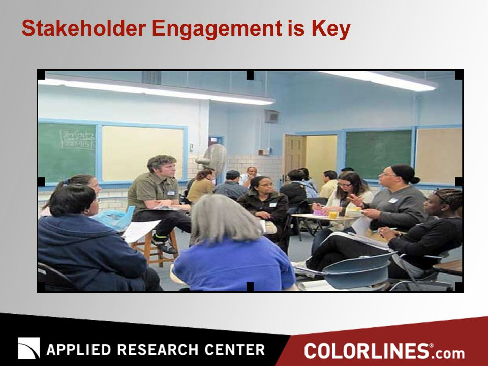 Stakeholder Engagement is Key