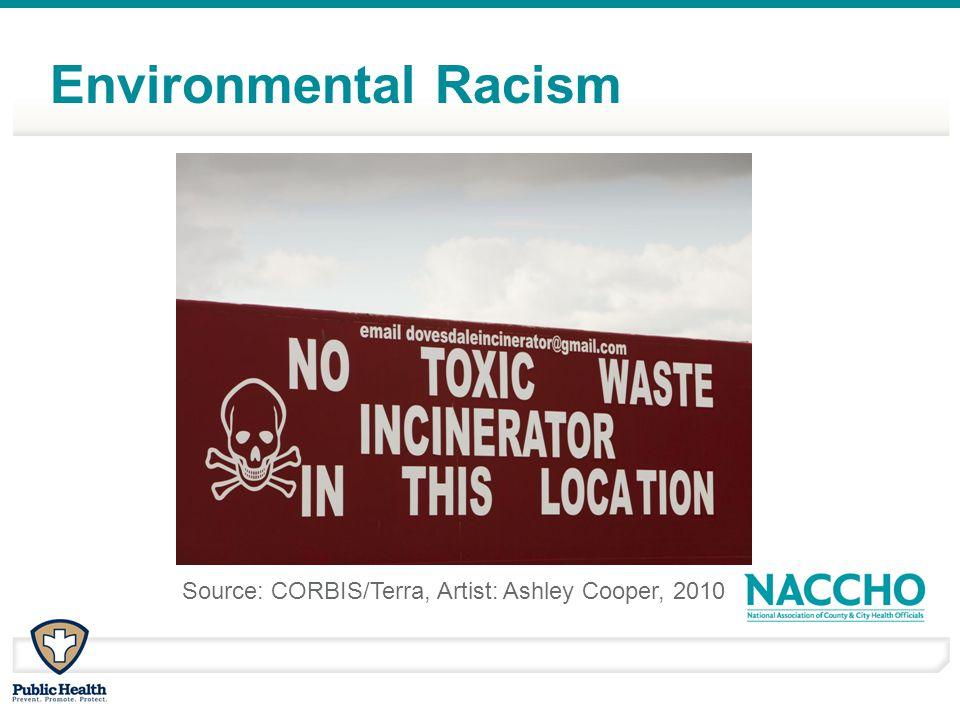 Source: CORBIS/Terra, Artist: Ashley Cooper, 2010 Environmental Racism