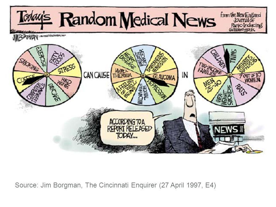 Source: Jim Borgman, The Cincinnati Enquirer (27 April 1997, E4)