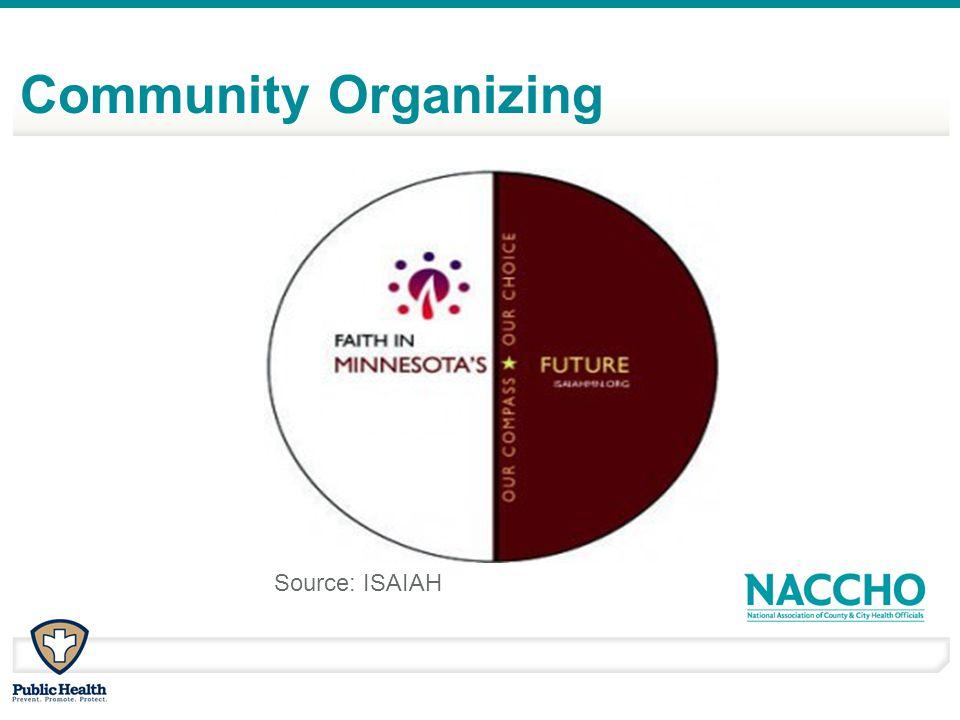 Community Organizing Source: ISAIAH