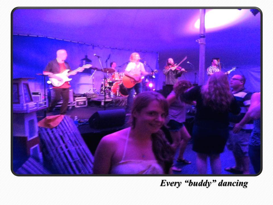 Every buddy dancing