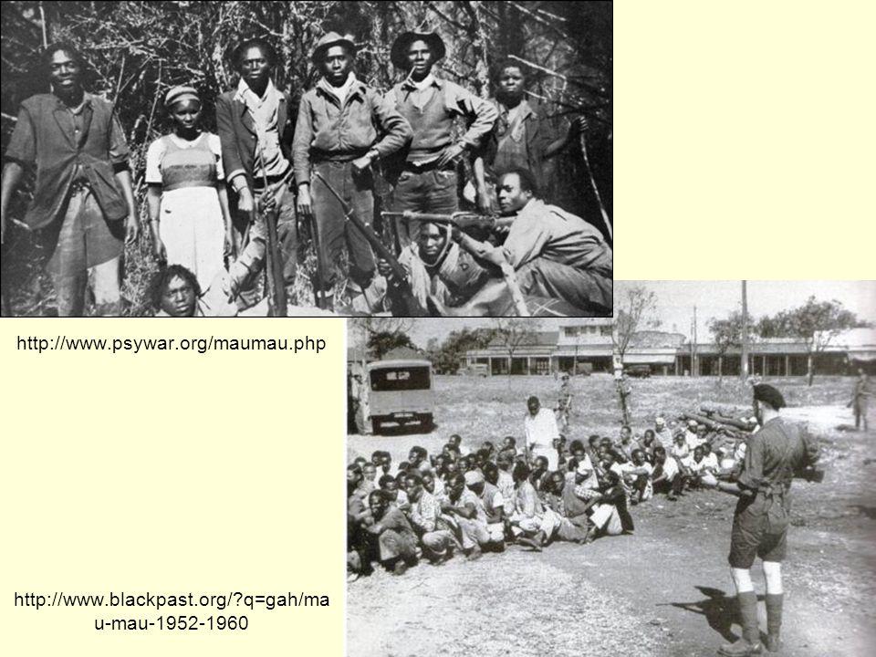 http://www.psywar.org/maumau.php http://www.blackpast.org/?q=gah/ma u-mau-1952-1960