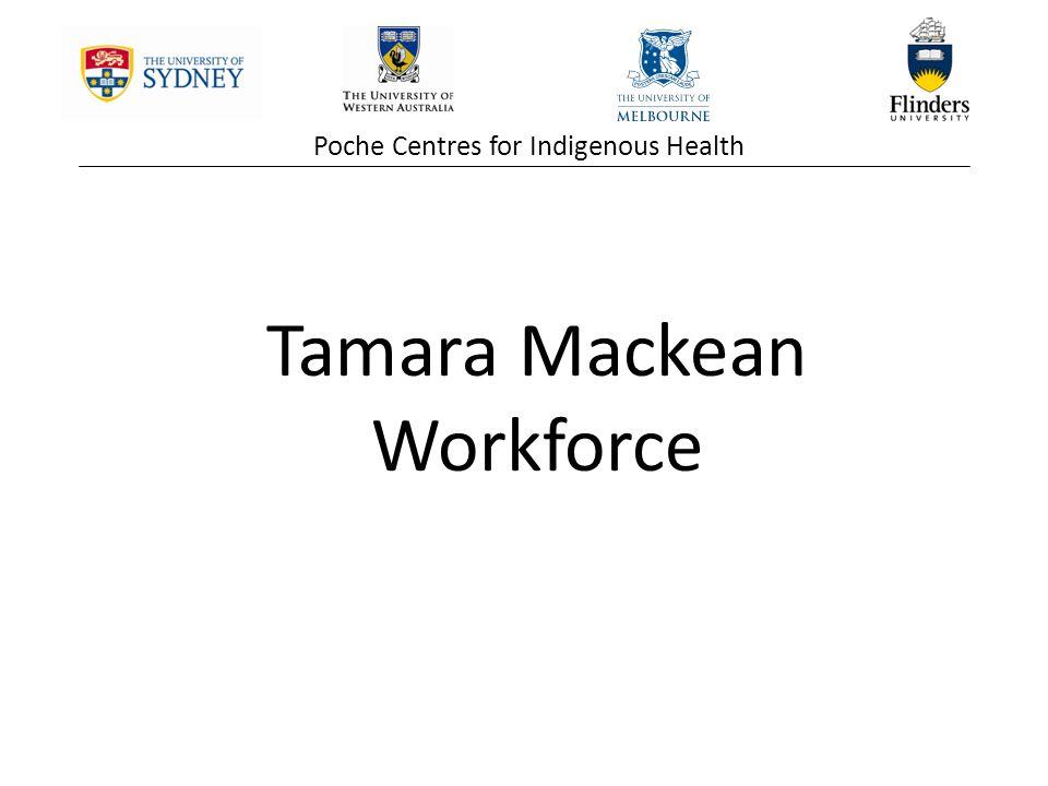 Tamara Mackean Workforce