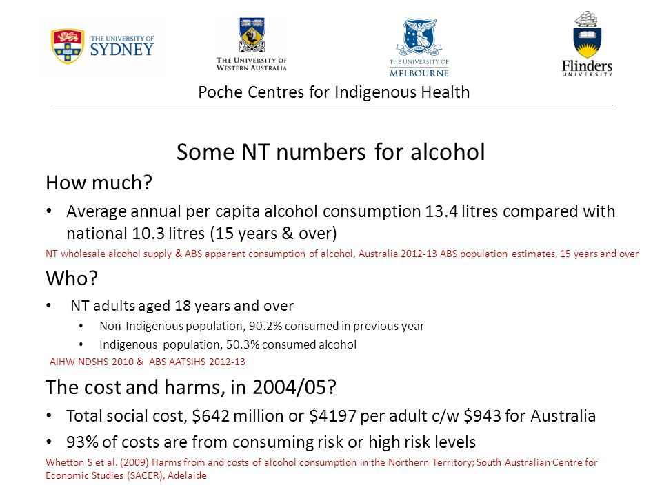 Poche Centres for Indigenous Health How much.