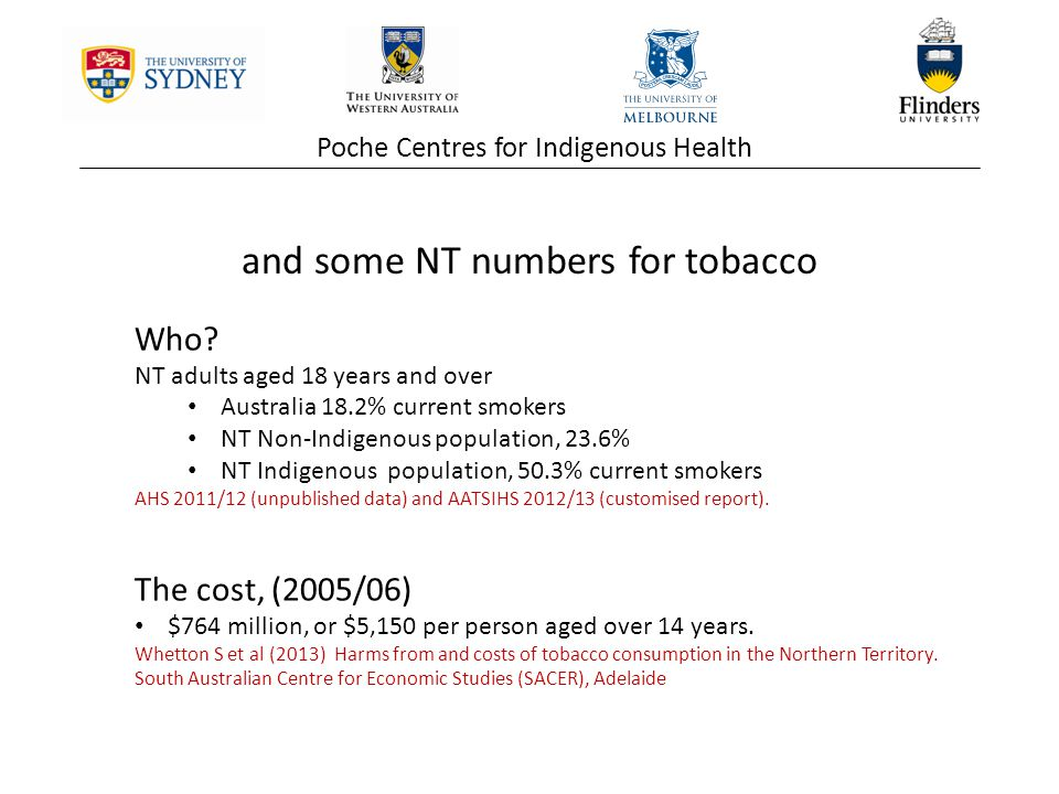 Poche Centres for Indigenous Health THE NATIONAL EMPOWERMENT PROJECT PHASES 18