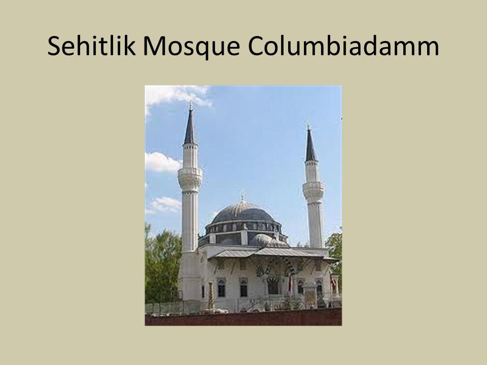 Sehitlik Mosque Columbiadamm