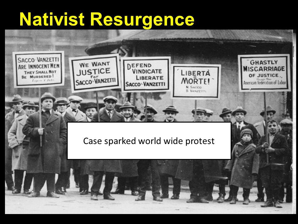 Nativist Resurgence Nativism Increases Eugenics: False science of improving society by manipulating heredity.