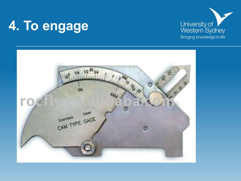 4. Feedback rich environment… Peer support/PASS/Self Assessment